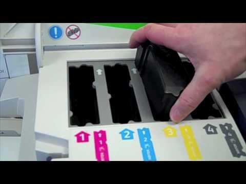 Schimbare batoane cerneala Xerox ColorQube