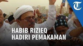 VIDEO: Habib Rizieq dan Menantu Hadiri Pemakaman KH Maimun Zubair