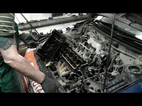 Фото к видео: Toyota corolla двс 5A-FE и сново масло