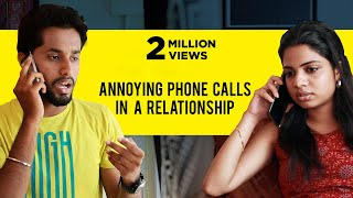 Annoying Phone calls in a Relationship | Awesome Machi | English Subtitles