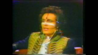 Adam and the Ants  USA Invasion Part 1 of 2