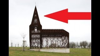 Watch This Church Disappear With No Magical Illusions Used At All. AWESOME.
