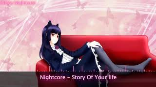 Nightcore - Story Of Your Life (Request by Nightcore Wolf - Star)