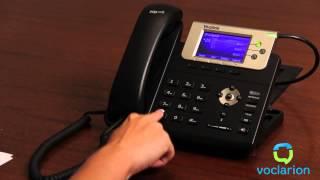Voclarion: Call Forward No Answer - Status Check