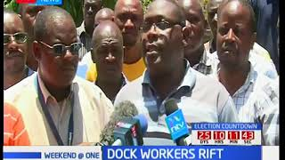 Mombasa dock workers demand for the removal of entire board citing misuse of funds