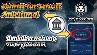 Wie bekomme ich Geld von crypto.com zuruck an die Bank