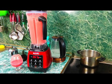 Professional Biolomix D6300 2200 W Blender with Touchscreen