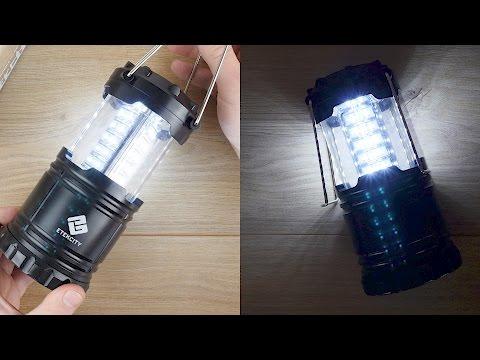 Viel Licht für 8,99 Euro -  Etekcity LED Campinglampe // DEUTSCH