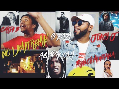 G-Eazy - No Limit REMIX ft. A$AP Rocky, Cardi B, French Montana, Juicy J,|FVO Reaction