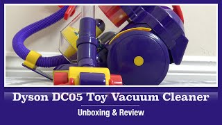 Dyson DC05 Toy Vacuum Cleaner By Casdon Unboxing & Demonstration