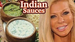 2 Indian Sauce Recipes- Raw Vegan Healthy Fast Delicious And Simple