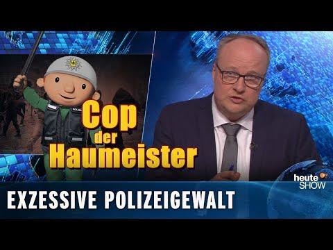 Polizeigewalt & Gewalt gegen Polizisten – beides scheiße | heute-show vom 15.03.2019