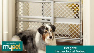 North States MyPet Petgate Instructional Video