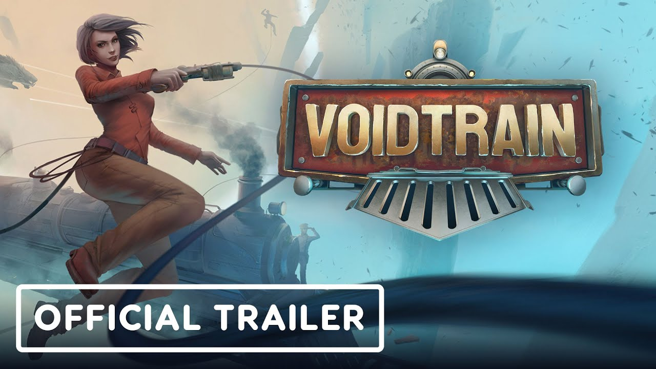Анонсирующий трейлер игры Voidtrain