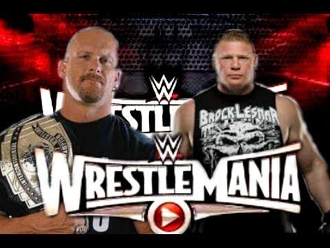 Stone cold Steve Austin vs Brock lesnar Wrestlemania 31 PROMO