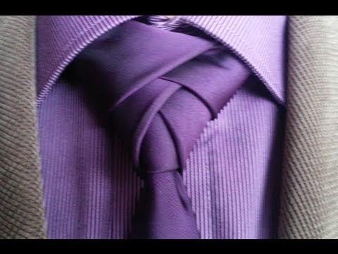 Krawatten besonders binden - Eldredge Knoten Tutorial