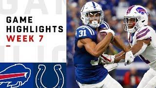 Bills vs. Colts Week 7 Highlights   NFL 2018