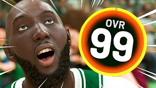 Tacko Fall but he's a 99 Overall
