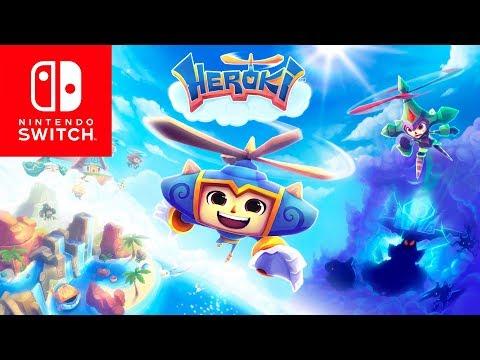 Heroki Announcement Trailer - Nintendo Switch thumbnail