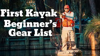 Beginner Kayak Fishing - The Gear You Need To Get Started - Buyers Guide