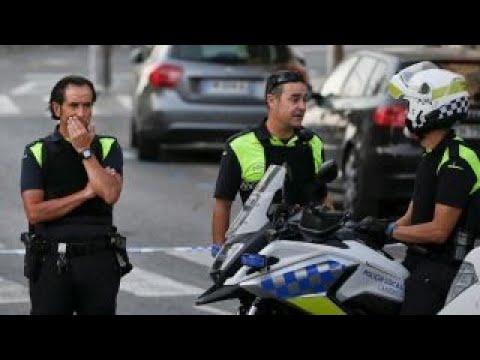 Police shoot man wearing possible explosives near Barcelona