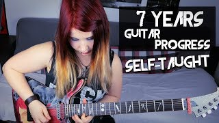 7 YEARS GUITAR PLAYING PROGRESS - Self-Taught [100K SUBSCRIBER SPECIAL]  Jassy J