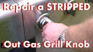 Repair a Stripped out Knob on a Gas Grill using Polymorph Plastic