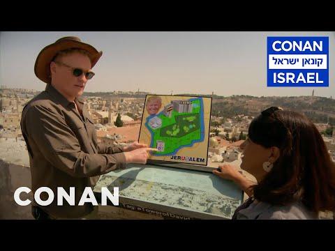 Conan v Izraeli #2: Jeruzalém a arabský trh