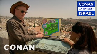 Conan Visits Jerusalem & Outlines Trump's Peace Plan  - CONAN on TBS - Video Youtube
