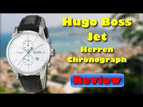 Hugo Boss 1513282 Jet Herren Chronograph mit Lederarmband Review