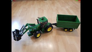 Bruder Traktor, Bruder Toys, John Deere Traktor, Traktor