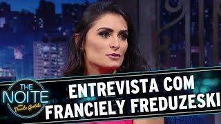 The Noite (20/07/16) - Entrevista Com Franciely Freduzeski