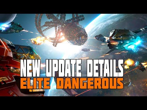 Elite Dangerous: New Update Release Date Announced. Starter System, New Moduels, Trade Improvements