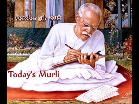 Prabhu Patra | 05 10 2018 | Today's Murli | Aaj Ki Murli | Hindi Murli (видео)