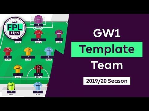What's the Most Popular FPL Squad for Gameweek 1? | fantasyfootballfix.com | Fantasy Premier League