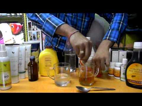 Testing : Forever Living Products Stabilized Aloevera Gel v/s Indian Market Aloevera Gel