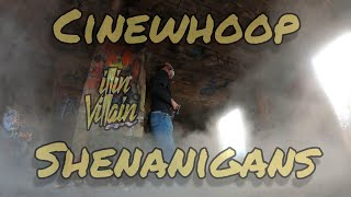 Cinewhoop Shenanigans with the newly printed illinWhoop #FPV #cinewhoop