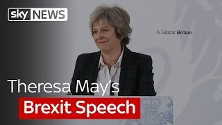 Theresa May's Brexit speech in full
