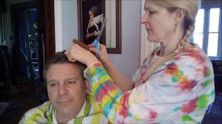 Frugal Home Haircut Plus Chitchat Plus Frugal Daddy Revealed as You Have Never Seen Him Before
