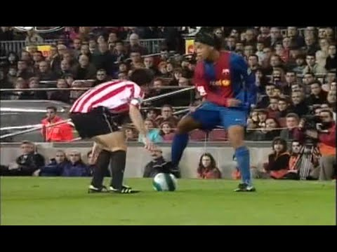 Ronaldinho vs Athletic Bilbao 2006/2007 ● Magical Performance