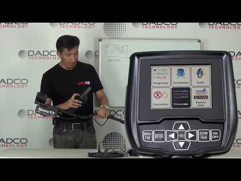 Video Instructivo del Detector de metal Spectra V3i Pro Kit 1°PARTE
