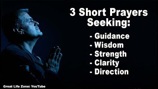 3 Short Guidance Prayers for Clarity and Direction