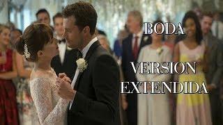 Cincuenta Sombras Liberadas 💍 Boda Escena [Extendida]   Fifty Shades Freed Wedding Extended