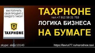 Таксфон презентация ,логика бизнеса на бумаге.