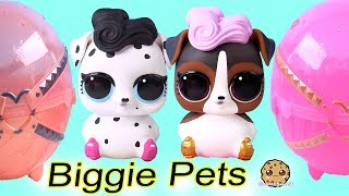 Biggie Pets DOGS ! LOL Surprise Mom + Color Change Baby Animals Blind Bags