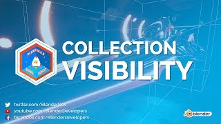 Collection Visibility - Blender 2.8 Code Quest