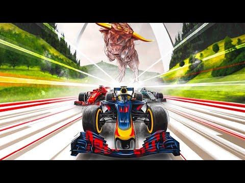 Max Verstappen jagt seinen Red Bull Racing RB7 durch Graz