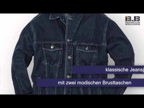 Jeansjacke von Replika in großen Größen bis 8XL bei Big-Basics.de