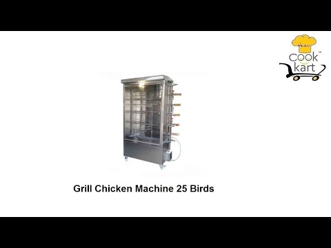 Grill Chicken Machine 9 Birds