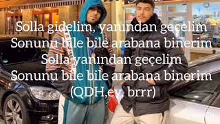 Roter Ferrari Eno Ft. Mero (Lyrics Video)